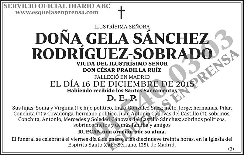 Gela Sánchez Rodríguez-Sobrado